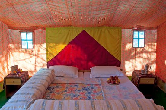 Kinner Camp Sangla : Accommodation