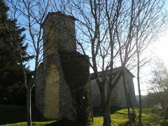 Rocca di Monteforte: scorcio