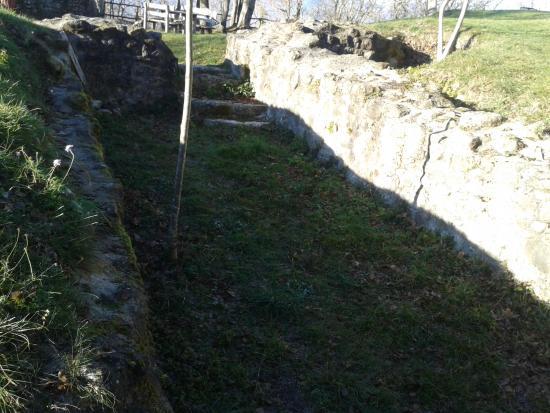 Rocca di Monteforte: cisterna