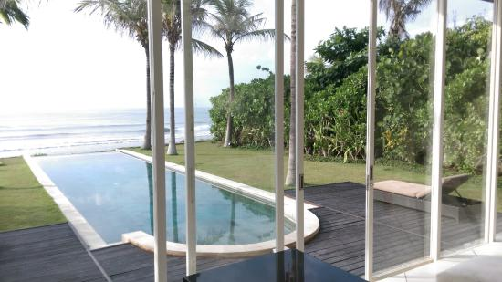 Pandawa Beach Villas & Spa: view from room