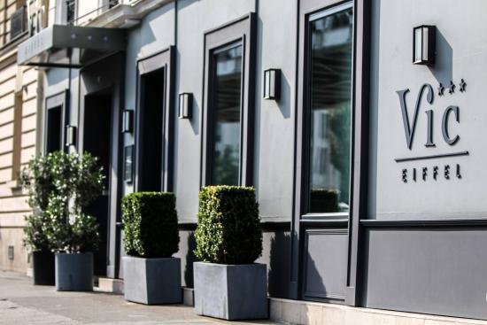 Hotel Vic Eiffel : façade de l'hôtel