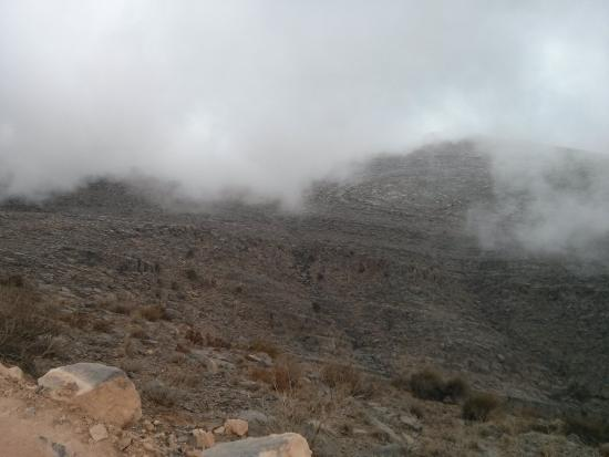 Hajjar Mountains : Above the clouds.