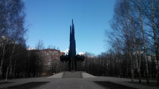 Monument to Soviet-Polish Arm Community