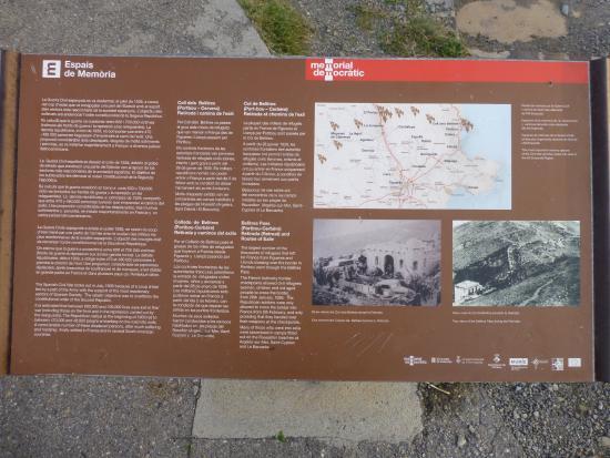 Portbou, Spanyol: Panel