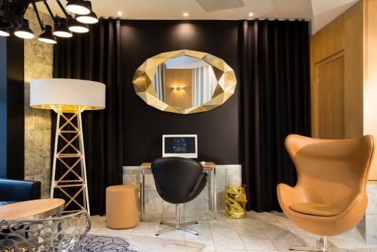 Hotel Montparnasse Saint-Germain: salon client