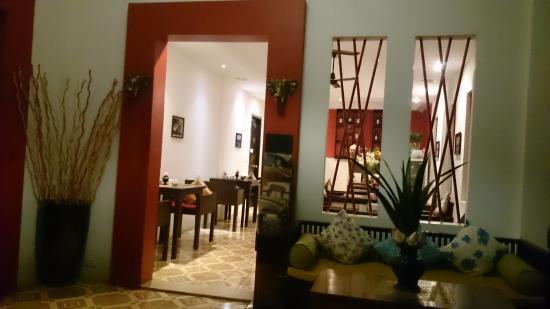 Villa Medamrei: restaurant