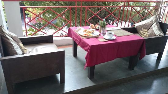 Villa Medamrei: balcony