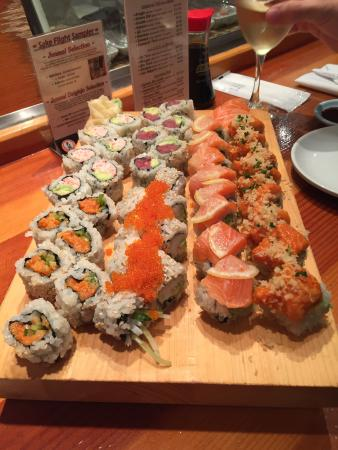 Excellents sushis