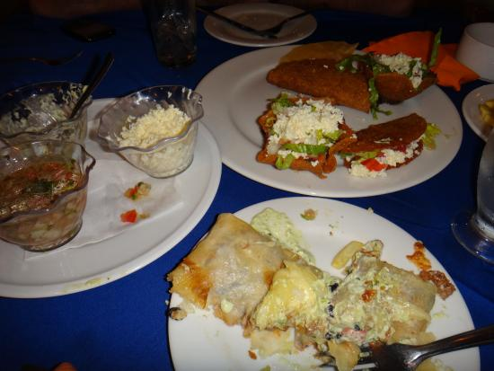 Comida restaurant mexicano Laguna Mar