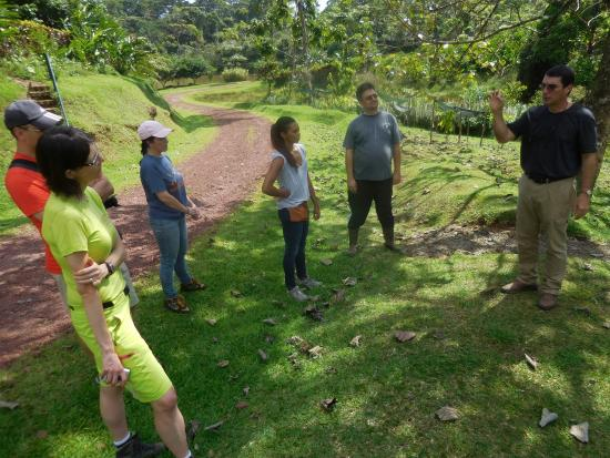 La Anita Rainforest Ranch: On the chocolate tour that is offered at the Ranch
