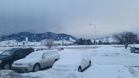 Holiday Inn Bozeman: View from my window 22.12.2015 at the holiday inn