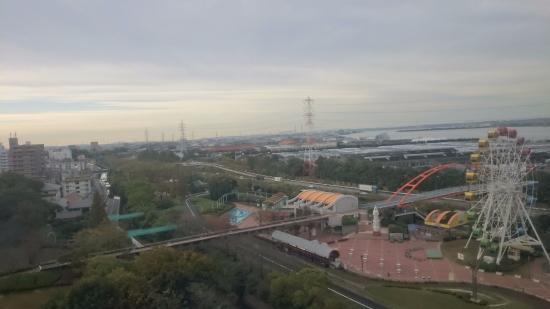 Hekinan, Japan: view from room
