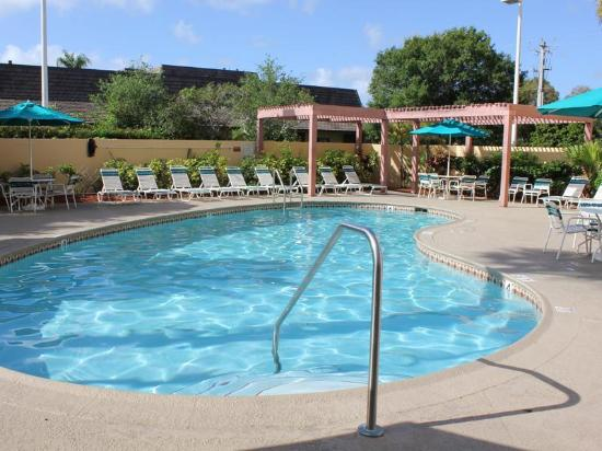 La Quinta Inn & Suites Coral Springs South: Pool view
