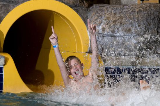 Two Tube Slides At Moose Mountain Falls Waterpark Picture Of