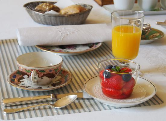 La Trimardière : déjeuner1