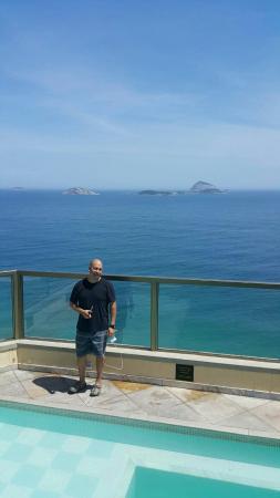 Un hotel en la hermosa ciudad de leblon en la mágica río de Janeiro