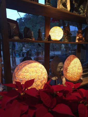 Topanga, CA: Holiday magic at Jalan Jalan imports. Best place to get a unique gift for someone special
