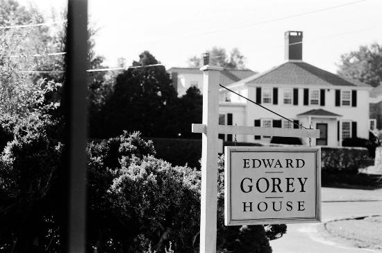 Yarmouth Port, MA: Edward Gorey House Sign