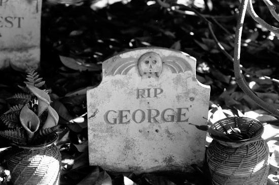 Yarmouth Port, MA: Edward Gorey House Graveyard (In the Backyard)