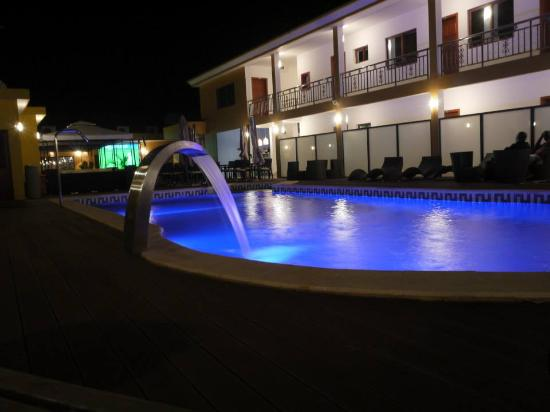 Saurimo, Angola: pool area