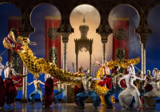 Houston, TX : Aladdin at the Wortham Theatre