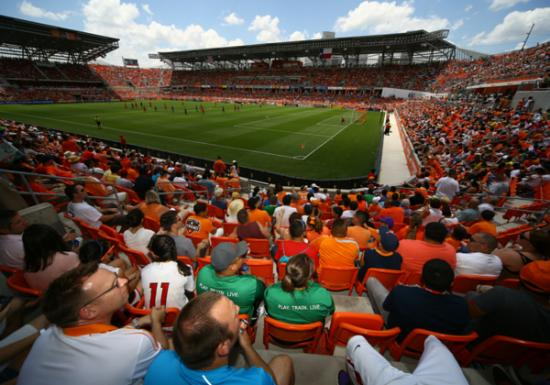BBVA Compass Stadium, home to the Houston Dynamo