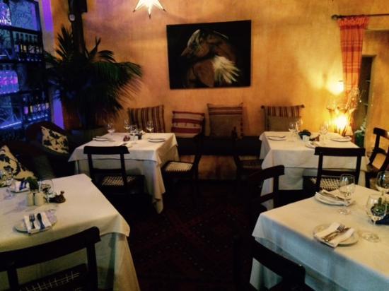 The Fez at Baghdad: Restaurant interior