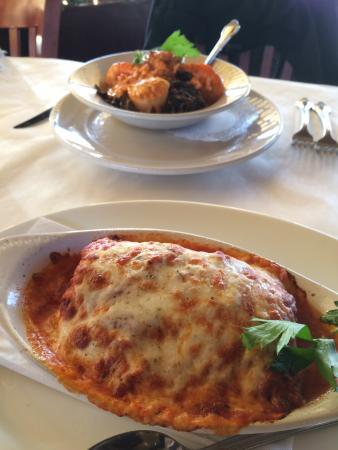 Volare: Lasagna & Spaghetti Neri al Pesce