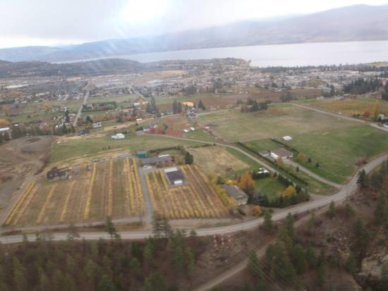 Valle de Okanagan, Canadá: Helicopter ride over the wineries