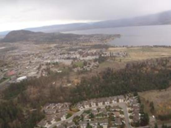 Okanagan Valley, Kanada: Helicopter ride over the wineries