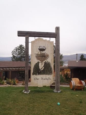Okanagan Valley, Canada: The Hatch winery