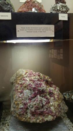 Jerome State Historic Park: Herkimer, NY diamond found in museium