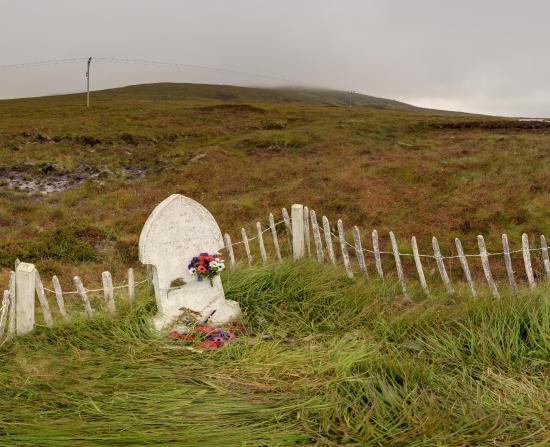 Hoy, UK: Betty Corrigall's Grave