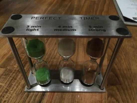 Pescatores: French Press Coffee timer - a nice touch for great coffee!