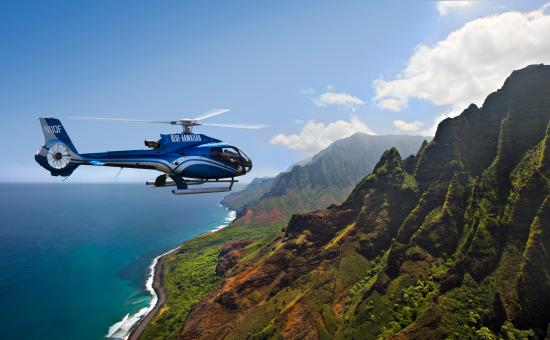 Blue Hawaiian Helicopter Tours - Kauai