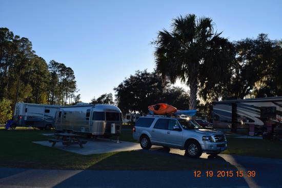 Spot 8 at Cedar Key RV Resort