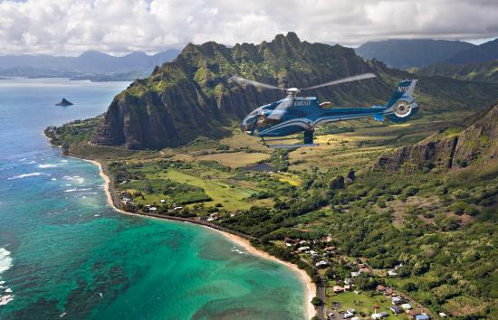 ‪Blue Hawaiian Helicopters - Oahu‬