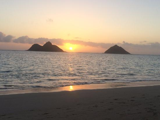 Lanikai, HI: Twin islands