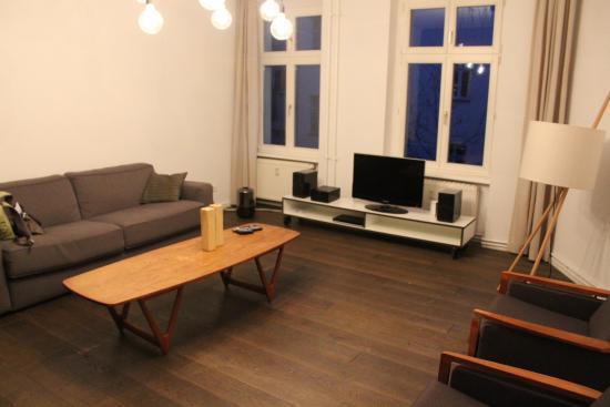 Homage Design Apartments: Loungeroom (huge)