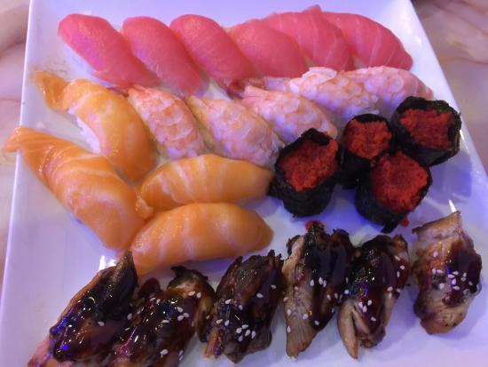Hibachi Grill: Sushi Plate