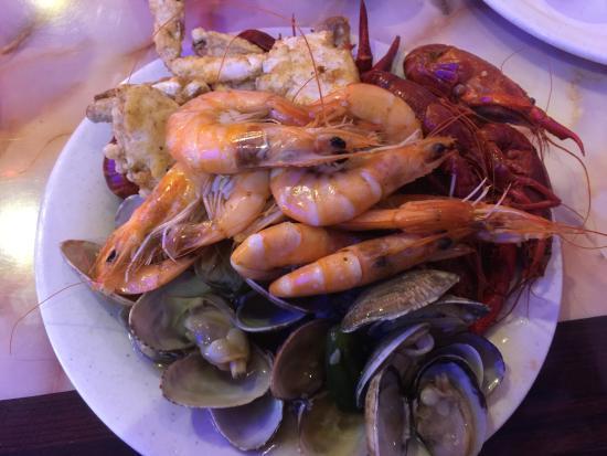 Hibachi Grill: Mixed Seafood