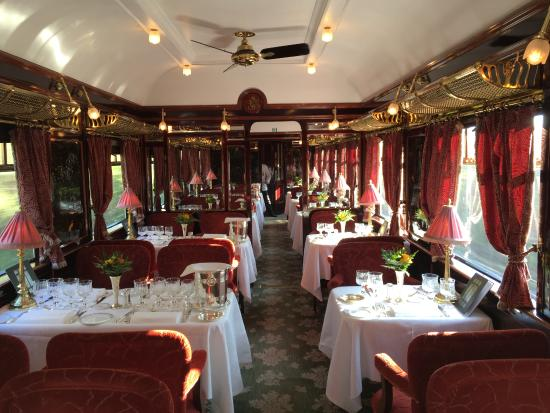 Venice Simplon Orient Express Day Trips Dining Car One Of Three