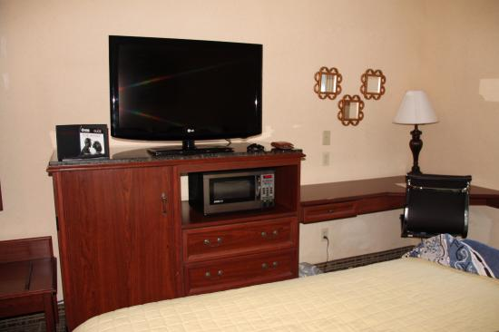 Baymont Inn and Suites Jacksonville/at Butler Blvd.: tv
