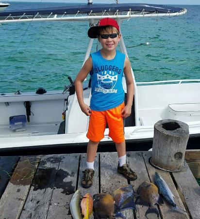 Marina La Bonita : My son with our haul