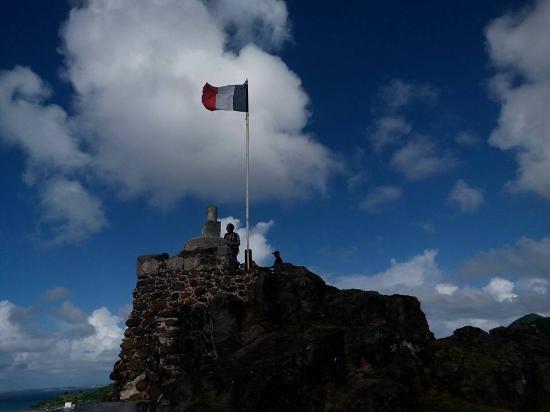 Oyster Pond, Saint-Martin / Sint Maarten: Fort Louis