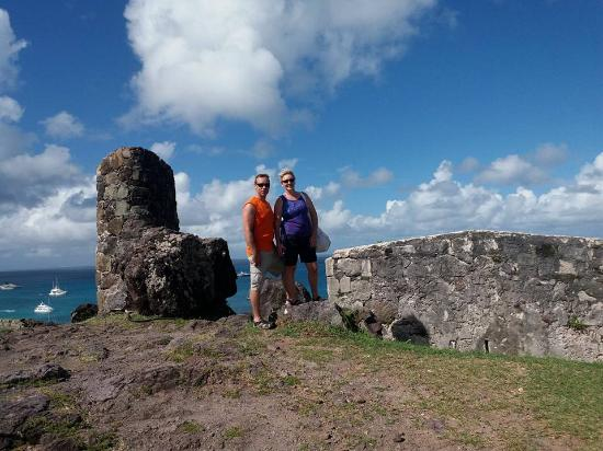 Oyster Pond, Sint Maarten: Fort Louis