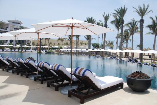 Cabo Azul Resort: Poolside Lounge Chairs