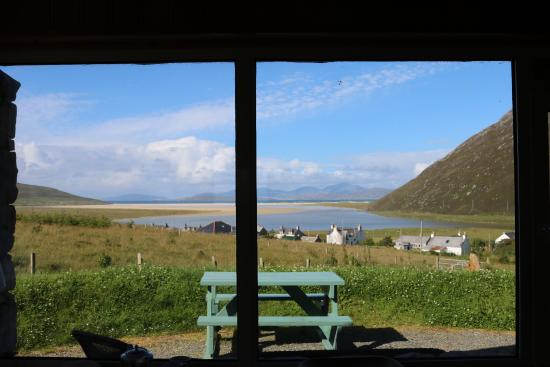 Beachview Cottages: The View from Gannet cottage lounge window
