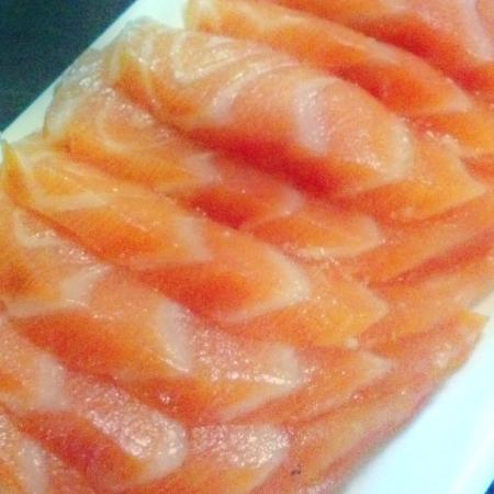 Sushido: Sashimi de salmão