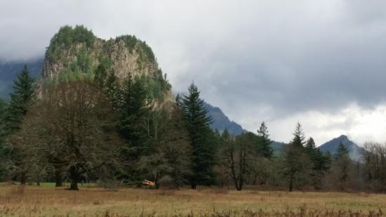 North Bonneville, WA: Beacon Rock